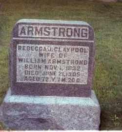 CLAYPOOL ARMSTRONG, REBECCA J. - Muskingum County, Ohio   REBECCA J. CLAYPOOL ARMSTRONG - Ohio Gravestone Photos