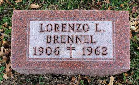 BRENNEL, LORENZO L. - Muskingum County, Ohio | LORENZO L. BRENNEL - Ohio Gravestone Photos