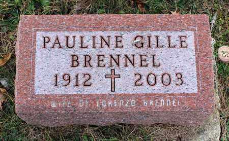 BRENNEL, PAULINE - Muskingum County, Ohio   PAULINE BRENNEL - Ohio Gravestone Photos
