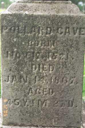 CAVE, POLLARD - Muskingum County, Ohio | POLLARD CAVE - Ohio Gravestone Photos