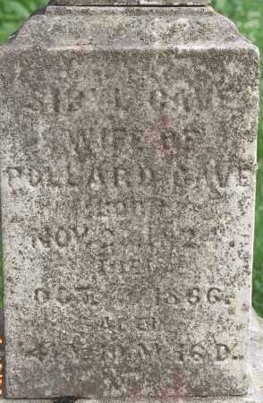 CAVE, SYBIL - Muskingum County, Ohio   SYBIL CAVE - Ohio Gravestone Photos