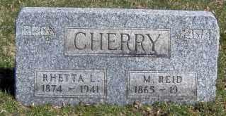 CHERRY, RHETTA L - Muskingum County, Ohio   RHETTA L CHERRY - Ohio Gravestone Photos