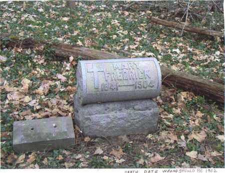 FREDRICK, MARY C - Muskingum County, Ohio | MARY C FREDRICK - Ohio Gravestone Photos