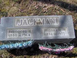 JACKMAN, CORA E - Muskingum County, Ohio   CORA E JACKMAN - Ohio Gravestone Photos