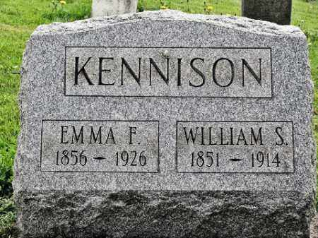 KENNISON, WILLIAM S - Muskingum County, Ohio   WILLIAM S KENNISON - Ohio Gravestone Photos