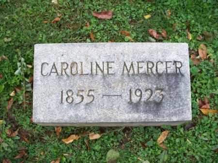 MERCER, CARLINE - Muskingum County, Ohio   CARLINE MERCER - Ohio Gravestone Photos