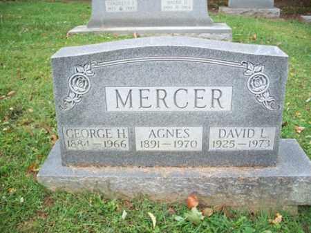 MERCER, GEORGE H. - Muskingum County, Ohio | GEORGE H. MERCER - Ohio Gravestone Photos