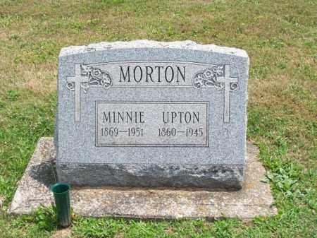MORTON, UPTON - Muskingum County, Ohio   UPTON MORTON - Ohio Gravestone Photos