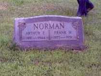 NORMAN, ARTHUR E. - Muskingum County, Ohio   ARTHUR E. NORMAN - Ohio Gravestone Photos