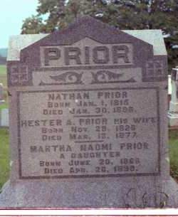 PRIOR, MARTHA HADMI - Muskingum County, Ohio | MARTHA HADMI PRIOR - Ohio Gravestone Photos
