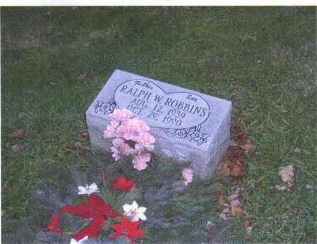 ROBBINS, RALPH W. - Muskingum County, Ohio | RALPH W. ROBBINS - Ohio Gravestone Photos