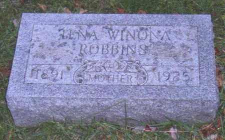 ARTER ROBBINS, TINA WINONA - Muskingum County, Ohio | TINA WINONA ARTER ROBBINS - Ohio Gravestone Photos