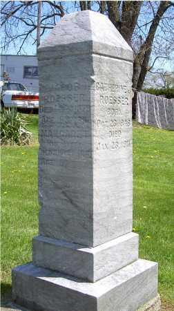ROESSER, CATHERINE J. - Muskingum County, Ohio | CATHERINE J. ROESSER - Ohio Gravestone Photos