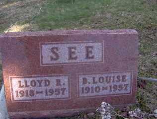 SEE, B LOUISE - Muskingum County, Ohio | B LOUISE SEE - Ohio Gravestone Photos