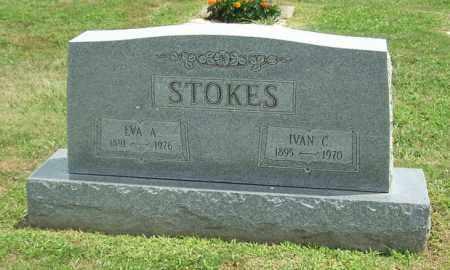 STOKES, IVAN C - Muskingum County, Ohio | IVAN C STOKES - Ohio Gravestone Photos