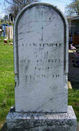 TEMPLE, UNKNOWN - Muskingum County, Ohio | UNKNOWN TEMPLE - Ohio Gravestone Photos