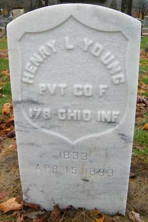 YOUNG, HENRY L - Muskingum County, Ohio | HENRY L YOUNG - Ohio Gravestone Photos