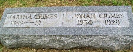MORRISON GRIMES, MARTHA - Noble County, Ohio | MARTHA MORRISON GRIMES - Ohio Gravestone Photos