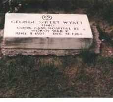 WYATT, GEORGE - Ottawa County, Ohio   GEORGE WYATT - Ohio Gravestone Photos