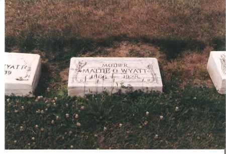WAINWRIGHT WYATT, MATTIE - Ottawa County, Ohio   MATTIE WAINWRIGHT WYATT - Ohio Gravestone Photos