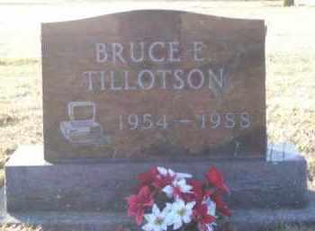TILLOTSON, BRUCE - Paulding County, Ohio   BRUCE TILLOTSON - Ohio Gravestone Photos