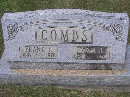 COMBS, HAZEL - Perry County, Ohio | HAZEL COMBS - Ohio Gravestone Photos