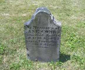COMBS, JANE?? - Perry County, Ohio | JANE?? COMBS - Ohio Gravestone Photos