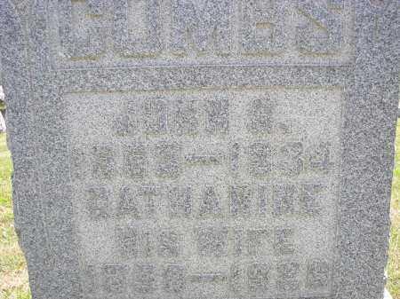COMBS, CATHARINE - Perry County, Ohio | CATHARINE COMBS - Ohio Gravestone Photos