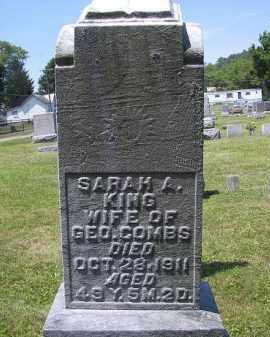 COMBS, SARAH A. - Perry County, Ohio | SARAH A. COMBS - Ohio Gravestone Photos
