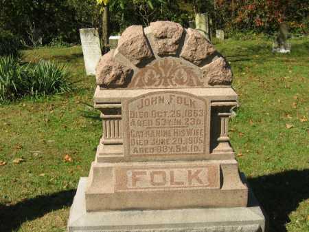 FOLK, JOHN - Perry County, Ohio | JOHN FOLK - Ohio Gravestone Photos