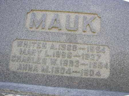 MAUK, CHARLES - Perry County, Ohio | CHARLES MAUK - Ohio Gravestone Photos