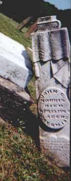 NORRIS, JOHN G - Perry County, Ohio   JOHN G NORRIS - Ohio Gravestone Photos
