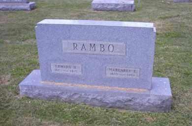 RAMBO, MARGARET E. - Perry County, Ohio | MARGARET E. RAMBO - Ohio Gravestone Photos