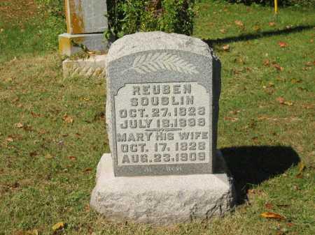SOUSLIN, REUBEN - Perry County, Ohio | REUBEN SOUSLIN - Ohio Gravestone Photos