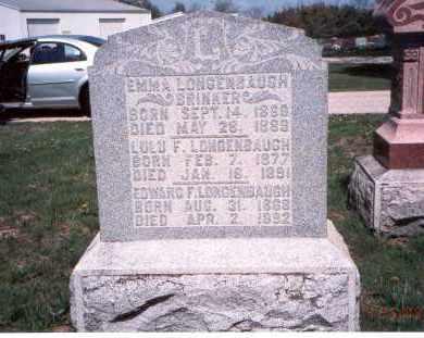 BRINKER, EMMA - Pickaway County, Ohio | EMMA BRINKER - Ohio Gravestone Photos