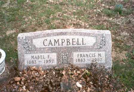 MCCRAY CAMPBELL, MABEL F. - Pickaway County, Ohio | MABEL F. MCCRAY CAMPBELL - Ohio Gravestone Photos