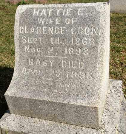 BETTS COON, HATTIE - Pickaway County, Ohio | HATTIE BETTS COON - Ohio Gravestone Photos