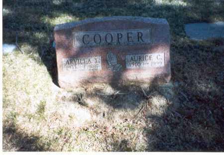 COOPER, AURICE . - Pickaway County, Ohio | AURICE . COOPER - Ohio Gravestone Photos