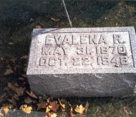 PONTIUS COURTRIGHT, EVALENA R. - Pickaway County, Ohio | EVALENA R. PONTIUS COURTRIGHT - Ohio Gravestone Photos