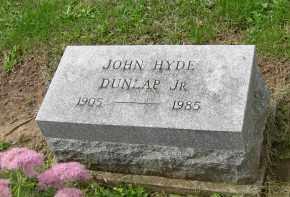 DUNLAP, JOHN HYDE JR - Pickaway County, Ohio | JOHN HYDE JR DUNLAP - Ohio Gravestone Photos