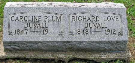 DUVALL, CAROLINE - Pickaway County, Ohio | CAROLINE DUVALL - Ohio Gravestone Photos