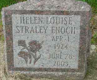 STRALEY ENOCH, HELEN LOUISE - Pickaway County, Ohio | HELEN LOUISE STRALEY ENOCH - Ohio Gravestone Photos