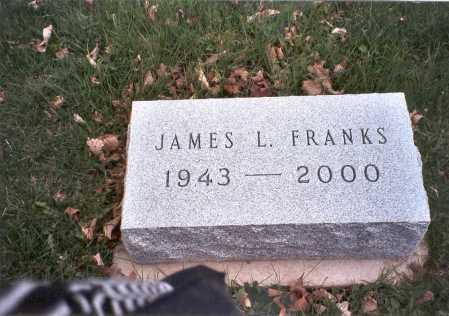 FRANKS, JAMES L. - Pickaway County, Ohio | JAMES L. FRANKS - Ohio Gravestone Photos