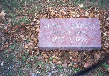 HEDGES, ANNA - Pickaway County, Ohio | ANNA HEDGES - Ohio Gravestone Photos