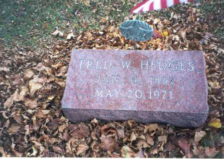 HEDGES, FRED W. - Pickaway County, Ohio | FRED W. HEDGES - Ohio Gravestone Photos