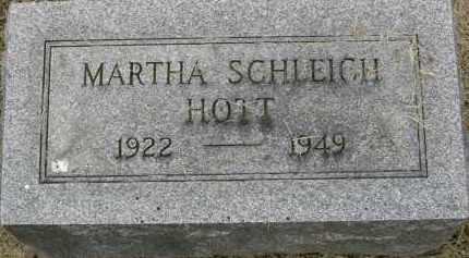 SCHLEICH HOTT, MARTHA ANN - Pickaway County, Ohio | MARTHA ANN SCHLEICH HOTT - Ohio Gravestone Photos