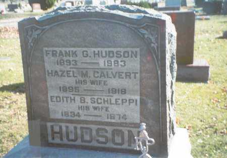 HUDSON, EDITH B. - Pickaway County, Ohio | EDITH B. HUDSON - Ohio Gravestone Photos