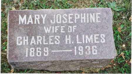 "LIMES, MARY JOSEPHINE ""JOSIE"" - Pickaway County, Ohio | MARY JOSEPHINE ""JOSIE"" LIMES - Ohio Gravestone Photos"