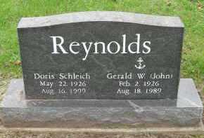 SCHLEICH REYNOLDS, DORIS LEE - Pickaway County, Ohio | DORIS LEE SCHLEICH REYNOLDS - Ohio Gravestone Photos
