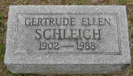 STRALEY SCHLEICH, GERTRUDE ELLEN - Pickaway County, Ohio | GERTRUDE ELLEN STRALEY SCHLEICH - Ohio Gravestone Photos